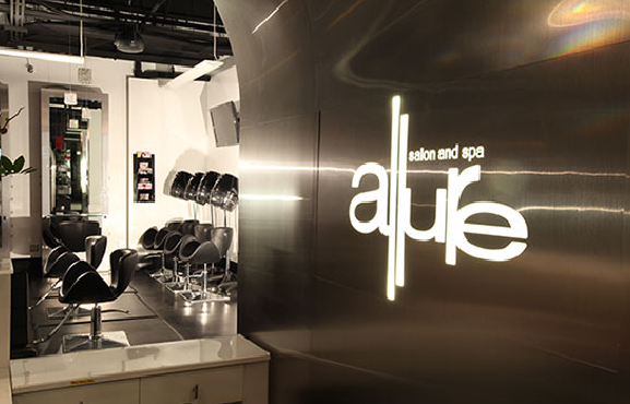 Photo gallery allure salon and spa full service hair for W salon and spa